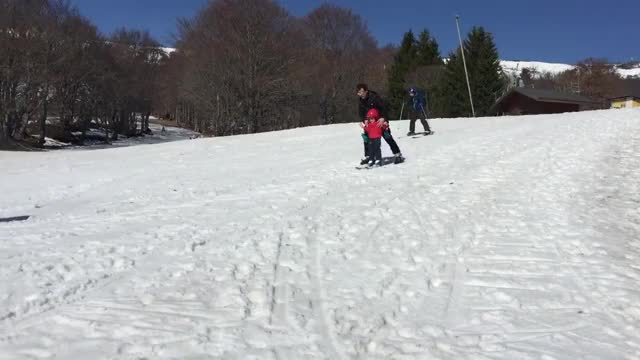 Watch and share Loulou First Ski GIFs on Gfycat