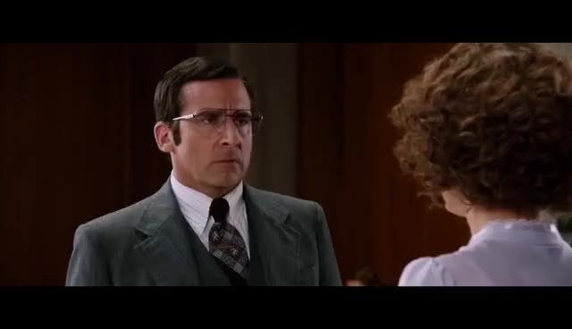 Watch and share Anchorman 2 Trailer GIFs and Steve Carell GIFs on Gfycat