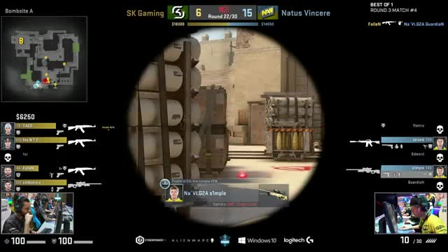 LIVE: NaVi vs. SK Gaming - ESL One New York 2016 I Groupstage