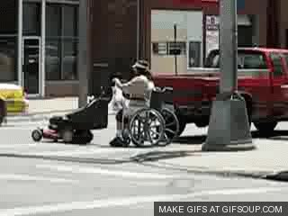 Watch and share Bring The Wheelchair GIFs on Gfycat