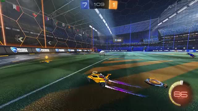 Watch and share Rocket League GIFs by pacoxylem on Gfycat
