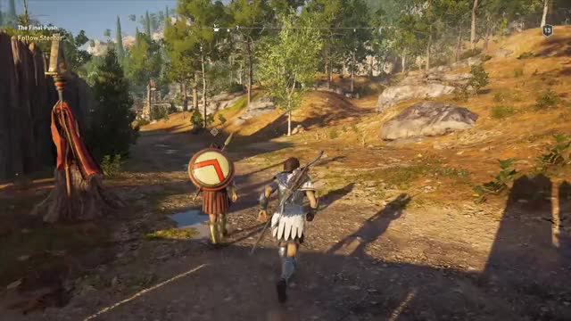 Watch and share Assassin's Creed Odyssey Walk GIFs on Gfycat