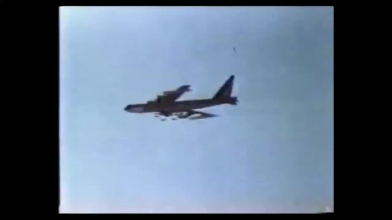 Explosion_Gfys, thingsthatblowup, B-52 dropping a load. (reddit) GIFs
