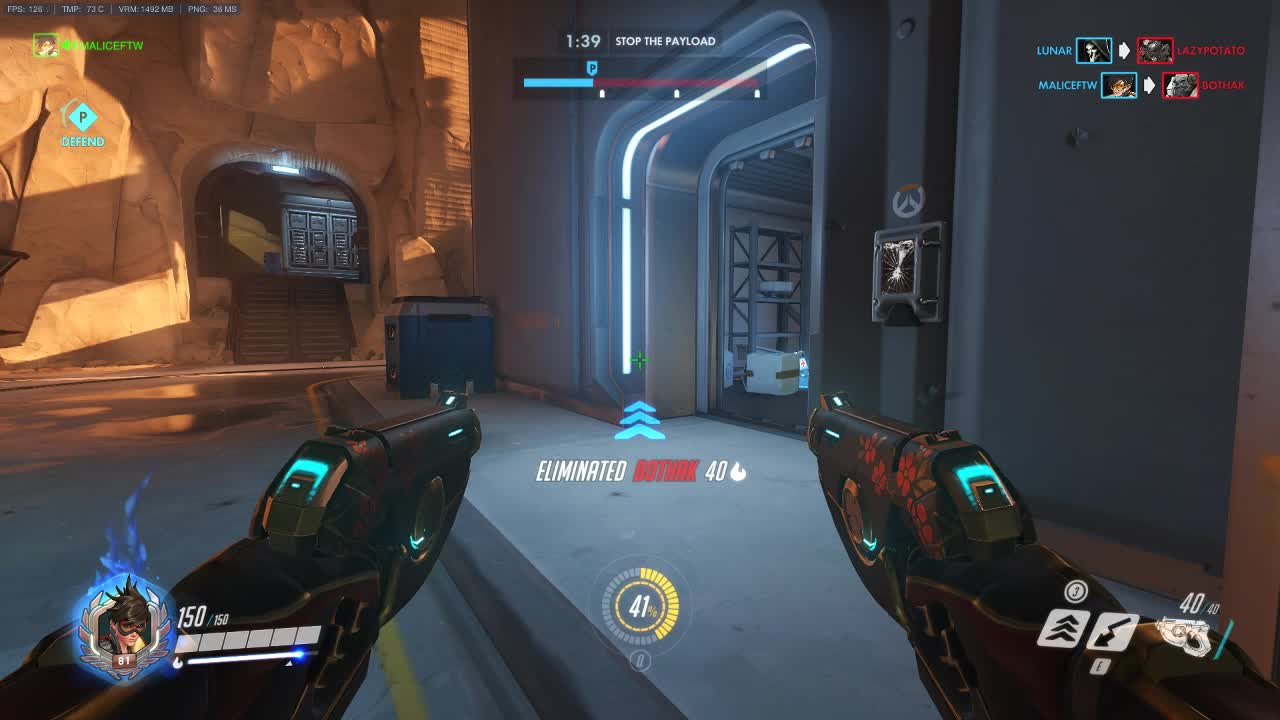 Overwatch, Junkrat is Phara's hard counter. GIFs