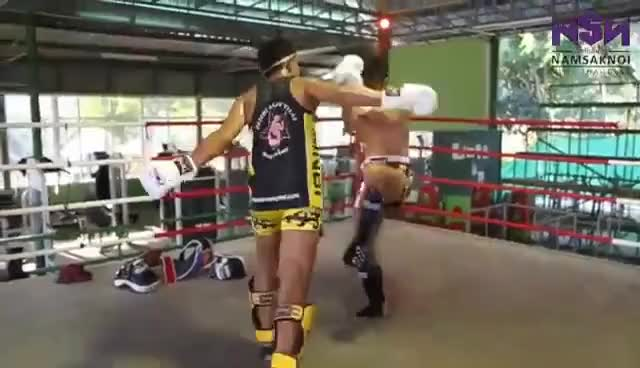 Watch Muay Thai Broken Rhythm Sparring GIF on Gfycat. Discover more related GIFs on Gfycat