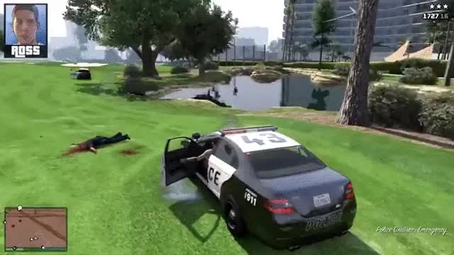 Sips gets run over in the new Hat GTA : Yogscast