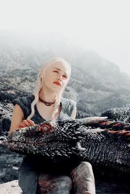 Watch Khaleesi GIF on Gfycat. Discover more 4.01, daenerys targaryen, drogon, gif, gotdaenerystargaryen, gotedit, gotgif, house targaryen, julia, s4 GIFs on Gfycat