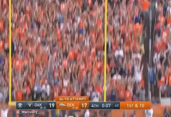 Watch and share Miles Denver Broncos Mascot Reaction GIFs by MarcusD on Gfycat
