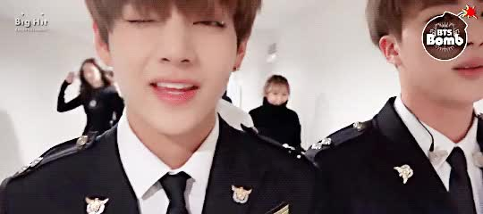 Watch and share Jin, Taehyung, Gif, Jungkook, Kookie‬ GIFs on Gfycat