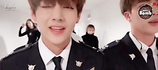 Watch and share Jin, Taehyung, Gif, Jungkook, Kookie GIFs on Gfycat