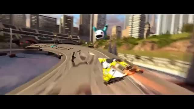 Watch Wipeout - Fast Paced Racing GIF on Gfycat. Discover more 5859dfec-026f-46ba-bea0-02bf43aa1a6f, PS4Share, ShareFactory, hexagonblast, wipeout GIFs on Gfycat
