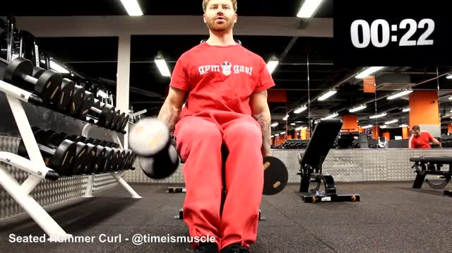 Watch and share Dumbbell GIFs and Forearms GIFs on Gfycat