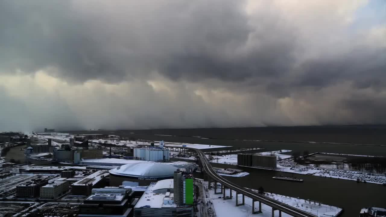 timelapse, Lake Effect storm that dumped 5 feet of snow on Buffalo (reddit) GIFs