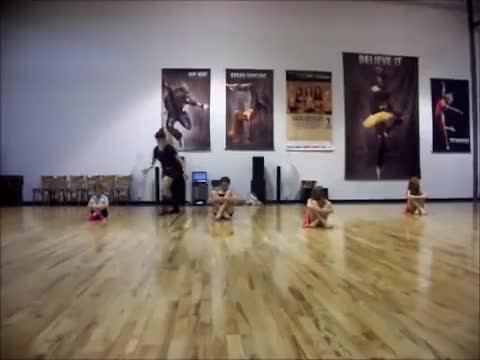 Watch Pro Dance Elite Beginner Class with Angelina Grima 2012 (reddit) GIF on Gfycat. Discover more related GIFs on Gfycat