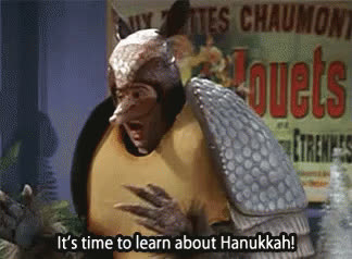 chanukah, hannukah, happy chanukah, happy hannukah, holiday, jewish, jewish chanukah, jewish hannukah, menorah, It's Time To Learn About Hanukkah GIFs