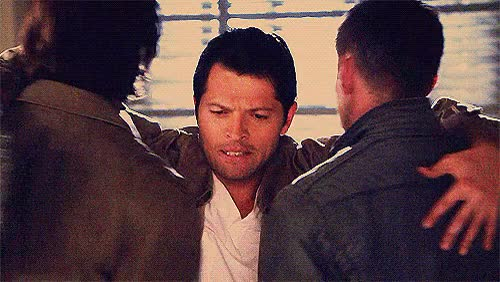 Watch this hug GIF by Reactions (@sypher0115) on Gfycat. Discover more Misha Collins, embrace, hold, hug GIFs on Gfycat
