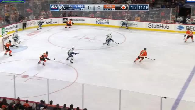 Watch Guddy bomb GIF by @phenomenon98 on Gfycat. Discover more Vancouver Canucks, hockey GIFs on Gfycat