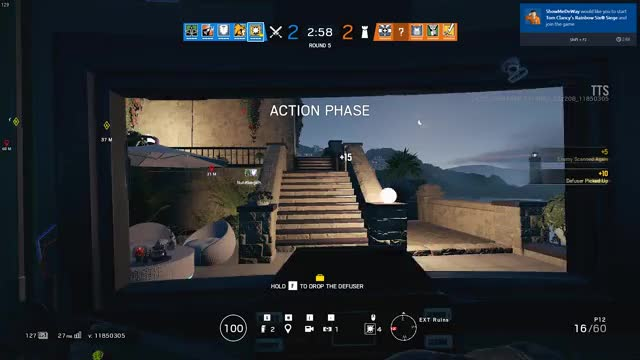 Here's how blitz looks like on the tts!! Rainbow6