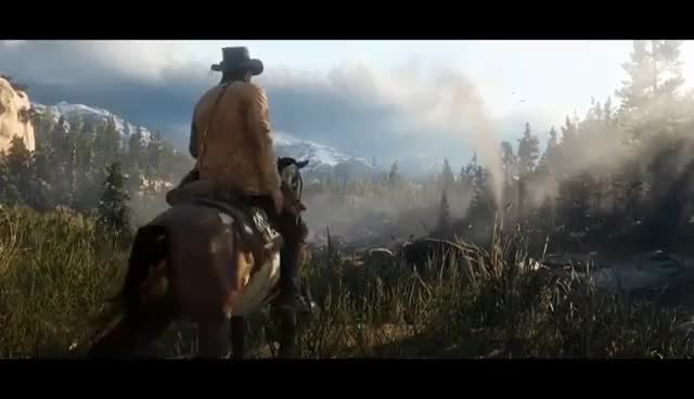 Watch and share Red Dead Redemption 2: Official Trailer #2 GIFs on Gfycat