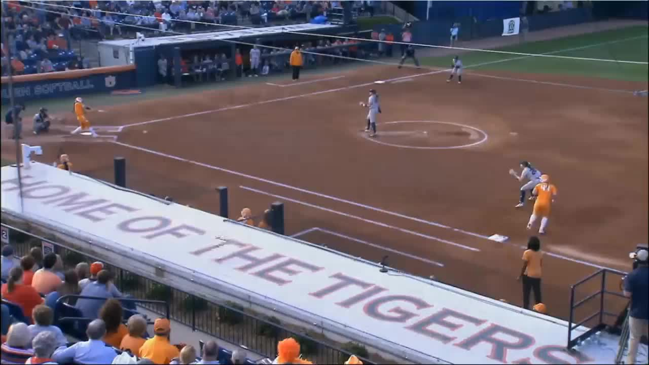 baseball, Double Play- Auburn GIFs