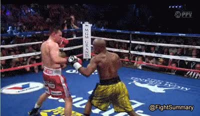 Watch Mayweather cross GIF on Gfycat. Discover more related GIFs on Gfycat