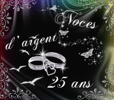Watch noce argent 25 ans GIF on Gfycat. Discover more related GIFs on Gfycat