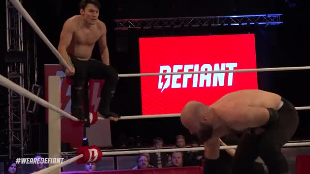 Watch and share Defiant Wrestling GIFs and Pro Wrestling GIFs on Gfycat