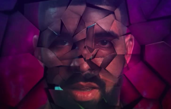 degrassi, drake, explode, explosion, geometric, geometry, hip, hop, mode, music, new, piece, pink, rap, scott, sicko, sing, song, travis, triangles, Travis Scott - SICKO MODE ft. Drake GIFs