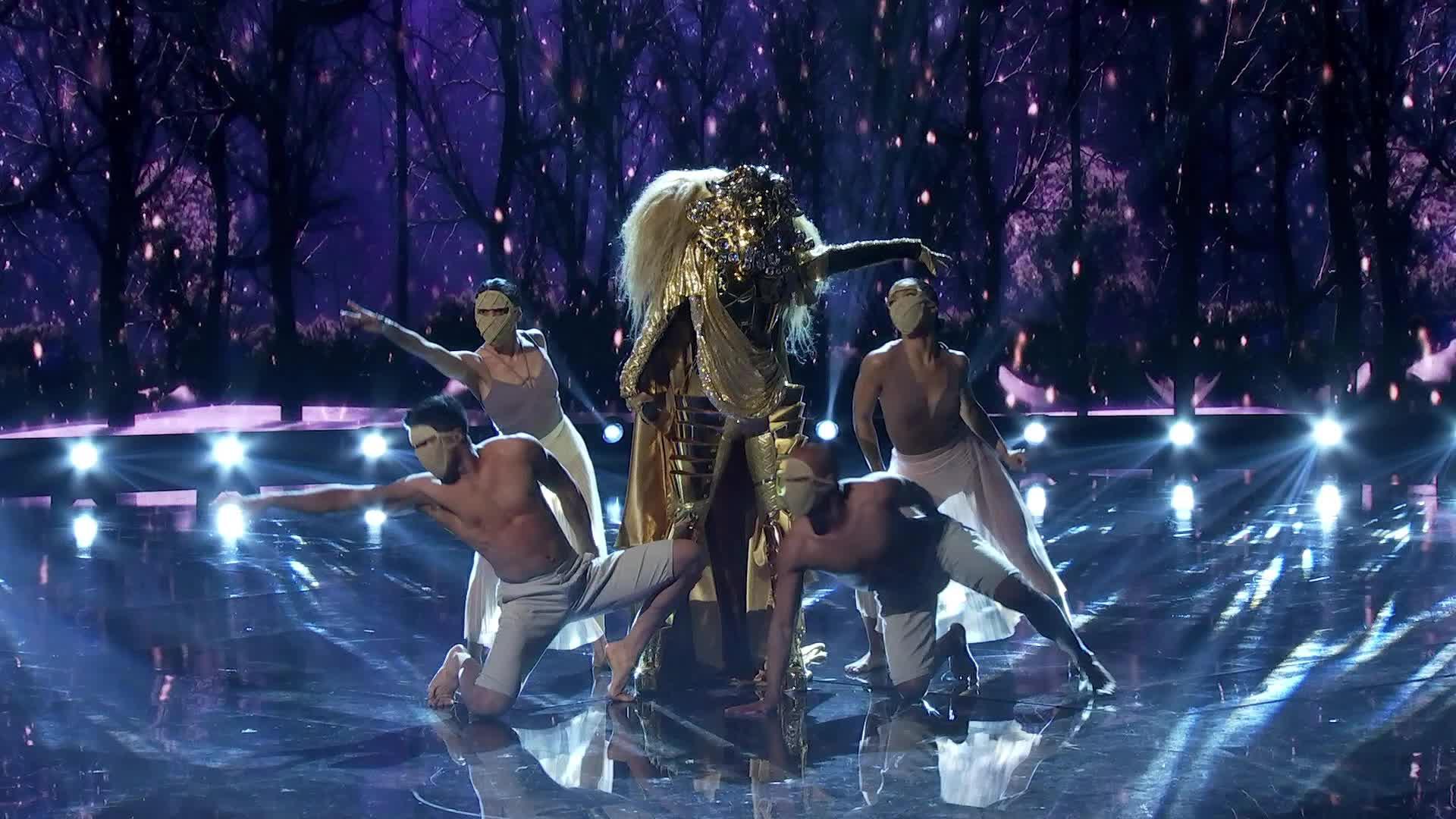 dance, fabulous, lion, magic, magical, masked singer, party, the masked singer, the masked singer on fox, Lion Performing GIFs