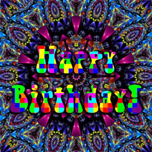 GIF, drug gif, drugs, happy birthday, lsd, mdma, psychedelic, shrooms, trippy, I have enough followers to be sure that today is the birthda GIFs