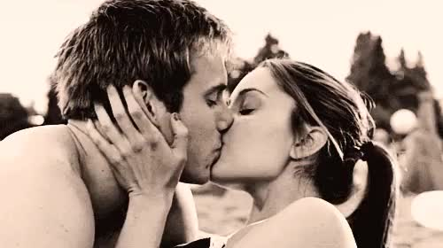 Image of: Love Watch Young Couple Kissing Style Via Tumblr We Heart It http Artfairsinternational Young Couple Kissing Style Via Tumblr We Heart It http Gif