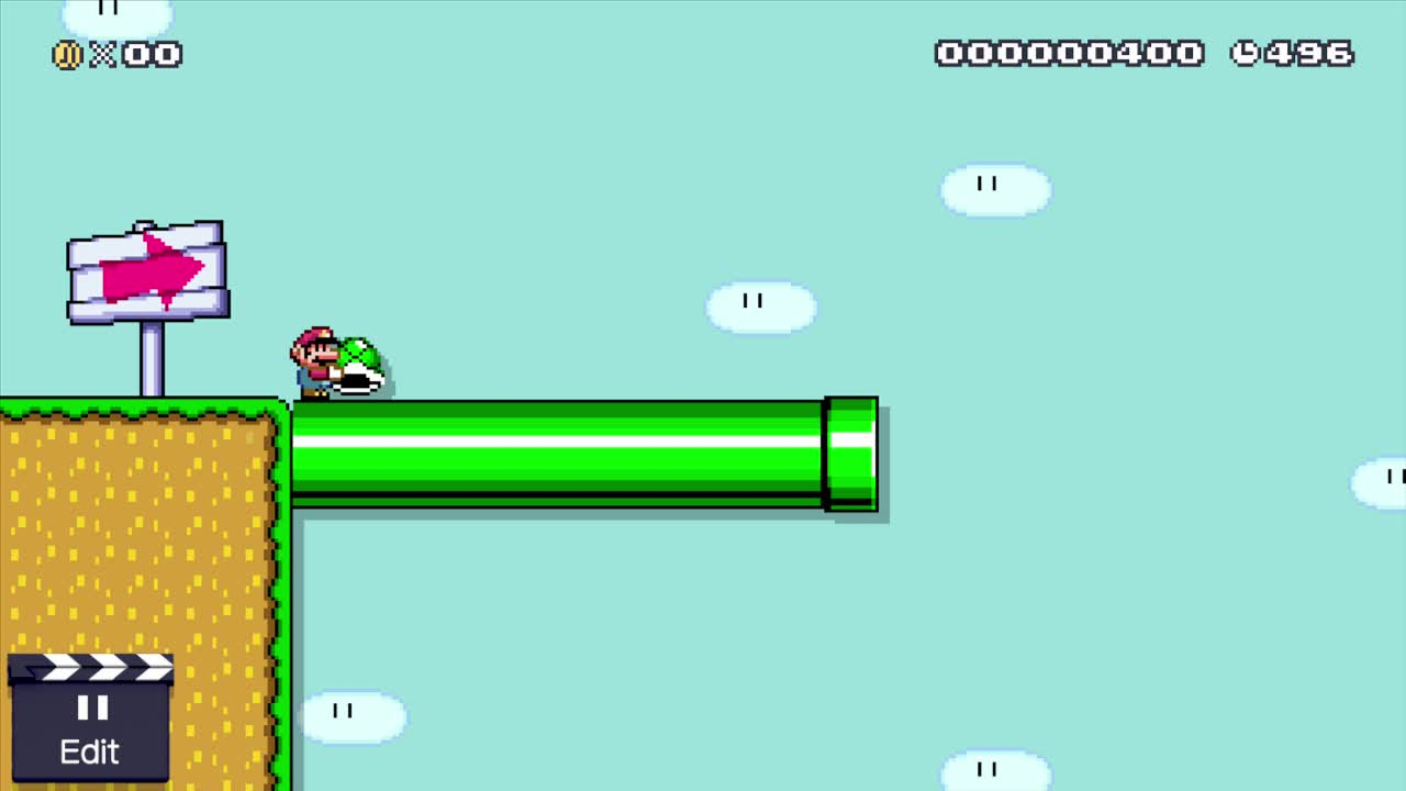 MarioMaker, mariomaker, Throwing Shell at Max Height GIFs