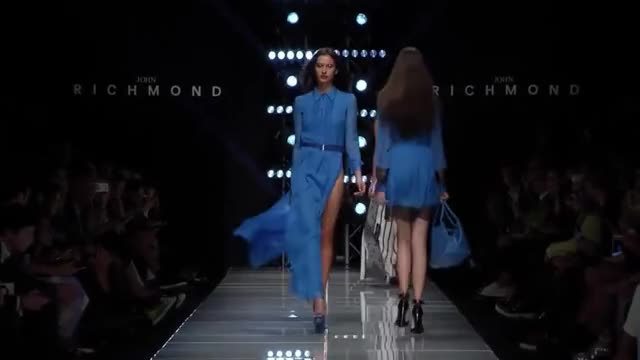 Watch and share John Richmond ¦ Spring Summer 2016 Full Fashion Show ¦ Exclusive 10:00 GIFs by fashion show on Gfycat