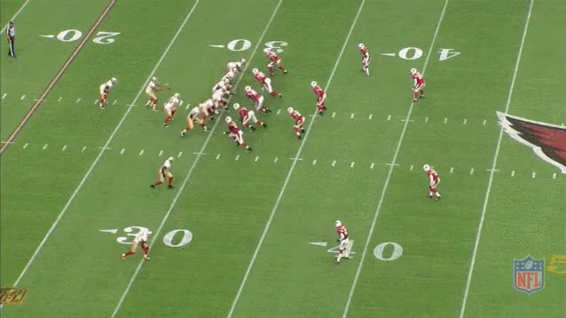 Watch and share Tyrann Mathieu Pick-6 Vs. 49ers GIFs by nflchurch on Gfycat