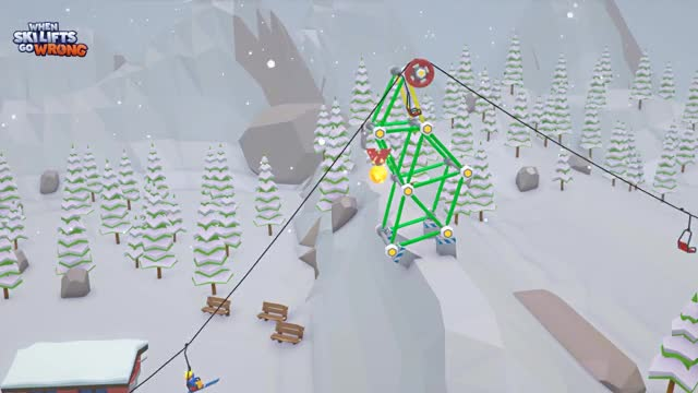 Watch When Ski Lifts Go Wrong 02-09-15-27-17 THE MOUND GIF on Gfycat. Discover more pixelbits, skilifts GIFs on Gfycat