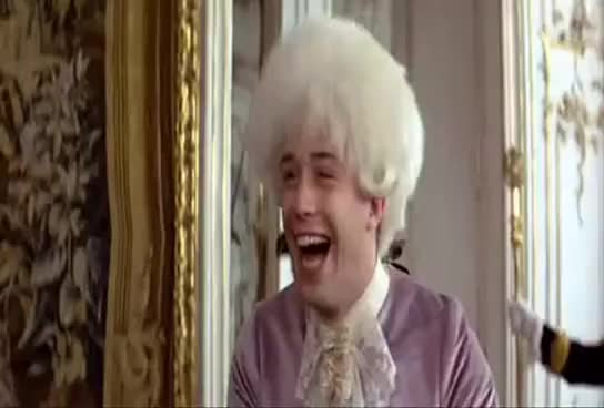 Watch and share Laughing GIFs and Amadeus GIFs on Gfycat