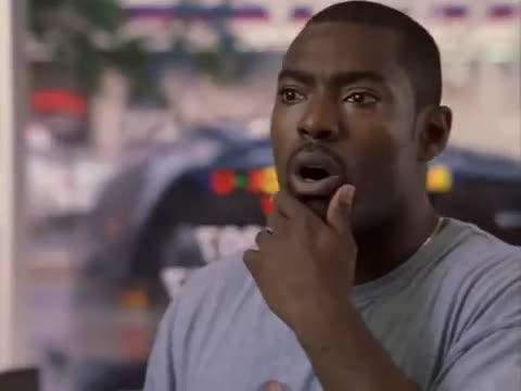 stringer bell, the wire, wee bey, The Wire - Stringer Tells Wee Bey He Shot A Cop GIFs