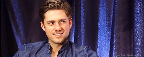 Watch and share Aaron Tveit GIFs on Gfycat