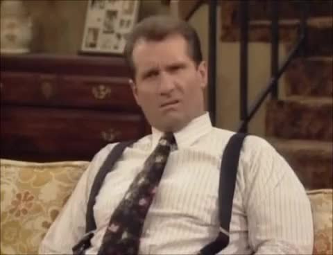 Watch and share Al Bundy GIFs and Confused GIFs on Gfycat