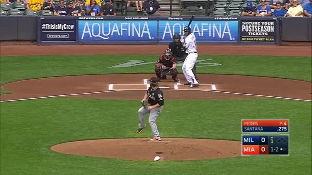 Watch and share CG: MIL@MIA 9/17/17 GIFs by Razzball on Gfycat