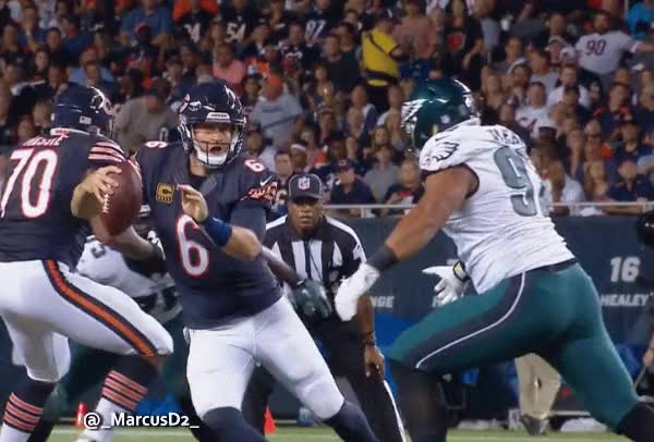 Watch and share Jay Cutler Fumble GIFs by MarcusD on Gfycat