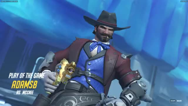 Watch McCree 3v3 GIF by AdamSB (@adamsb) on Gfycat. Discover more related GIFs on Gfycat