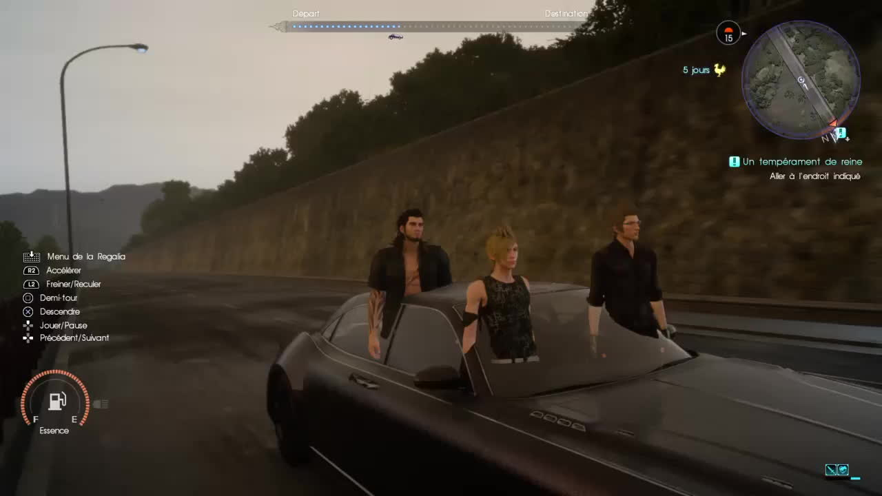 finalfantasy, gaming, Please stand up to pay respect to Final Fantasy XV GIFs