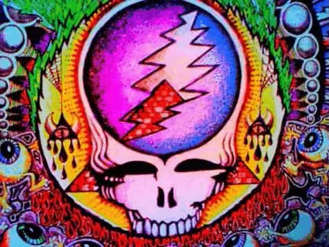 Watch and share Grateful Dead Psychedelic Art   Deadhead Grateful Dead GIFs on Gfycat