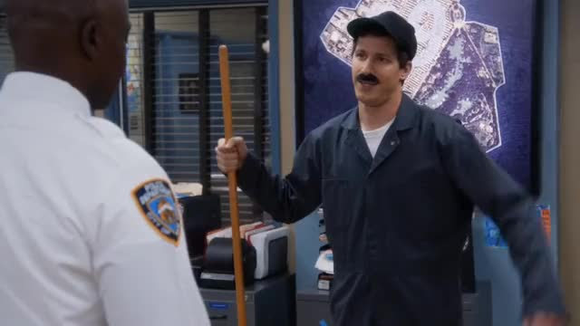 Watch and share Brooklyn Nine Nine GIFs and Andy Samberg GIFs by Unposted on Gfycat