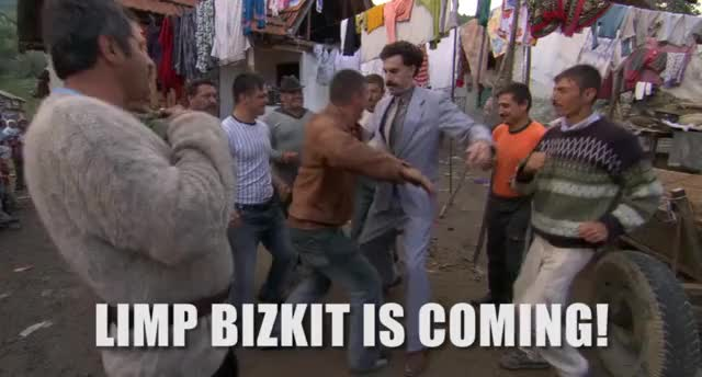 Watch Limp Bizkit is on tour GIF on Gfycat. Discover more related GIFs on Gfycat