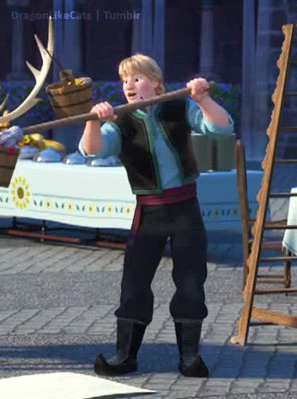 Watch Dinosaurs GIF on Gfycat. Discover more disney, disneyedit, frozen, frozen fever, frozenedit, he's so cute, kristoff, my gifs GIFs on Gfycat