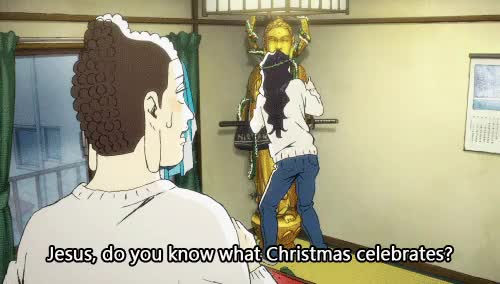 Jesus explains the meaning of Christmas