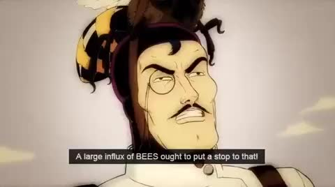 Watch and share Bees GIFs and Bee GIFs by Acronymesis on Gfycat