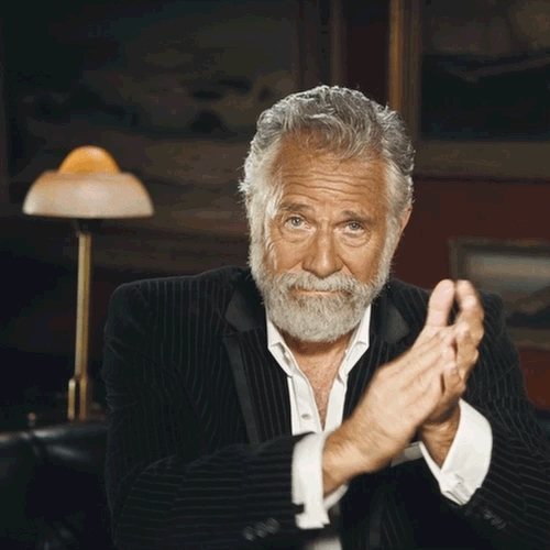 applause, clap, clapping, reactions, slow clap, the most interesting man in the world, dos equis man clap GIFs